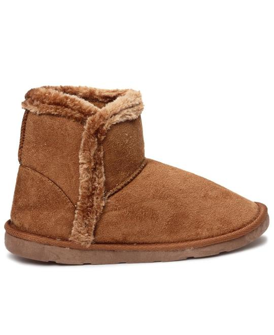 CUDDLE UP Fur Boots