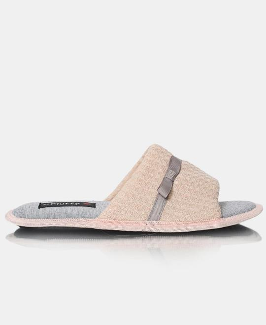 FLUFFY Bedroom Slippers - Beige