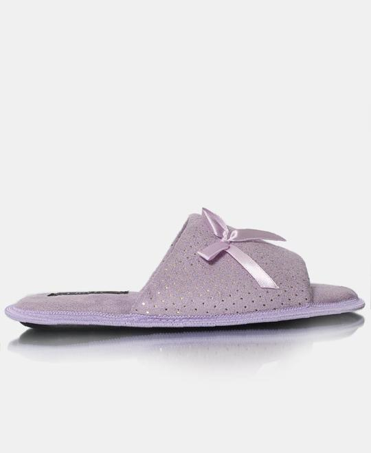 FLUFFY Bedroom Slippers - Purple