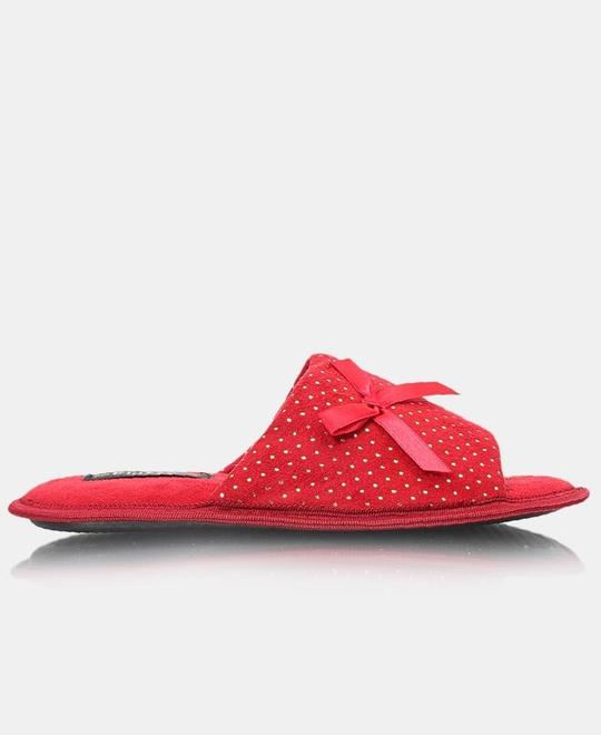 FLUFFY Bedroom Slippers - Red