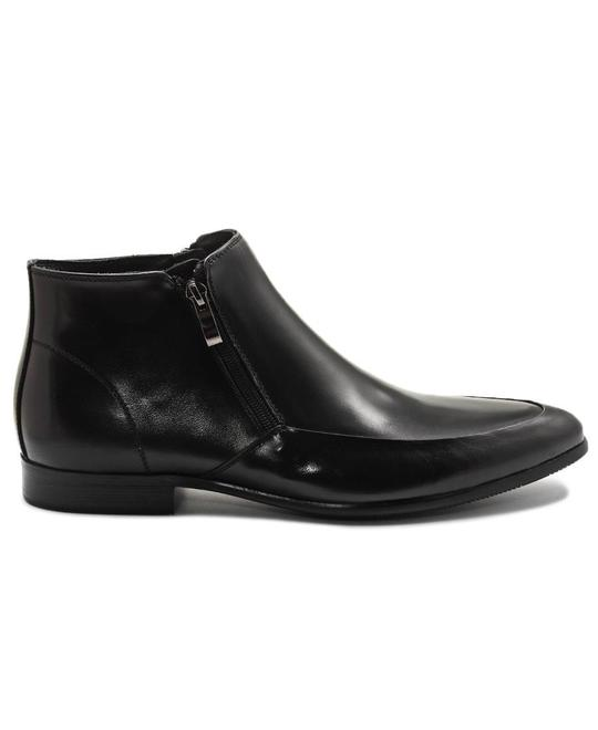 FORMALES Genuine Leather Boot - Black