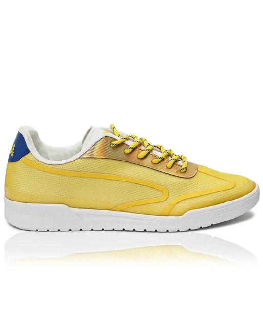 LONSDALE LONDON Mens Blade Sneakers - Yellow