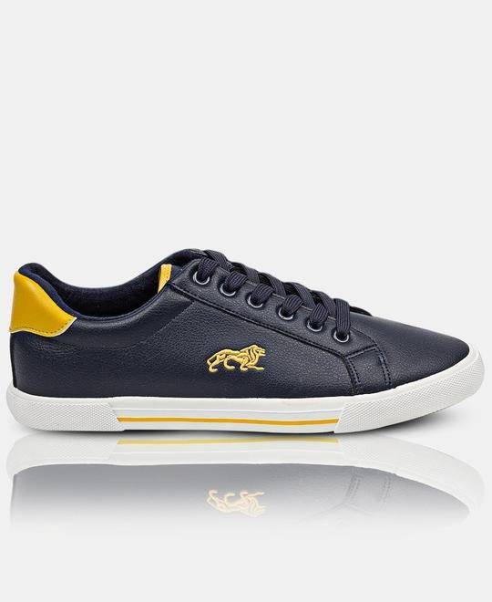 LONSDALE LONDON Mens Core Low Sneakers Navy