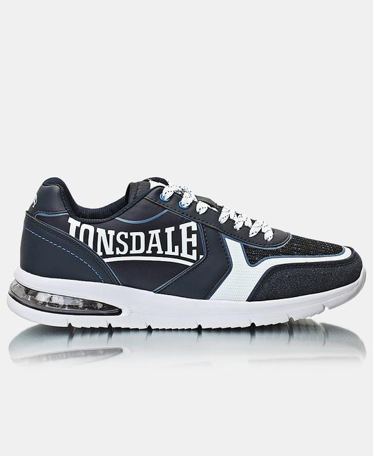 LONSDALE LONDON Mens Signature Sneakers - Navy