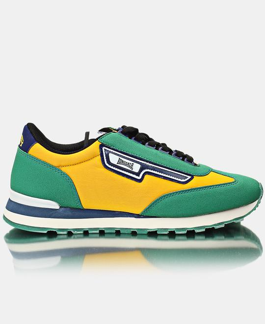 LONSDALE Mens King Sneakers - Yellow