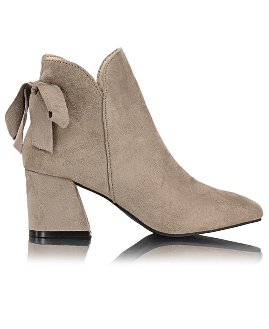 MODASCAPA Ankle Boots - Taupe