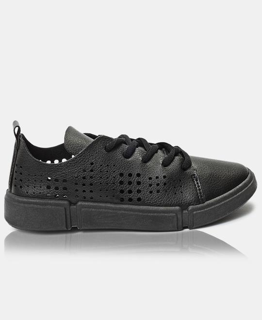 Naughty-Kids-Girls-Sneakers-Black
