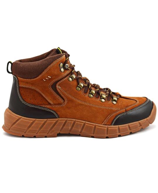 OZLANO Leather Boots - Tan