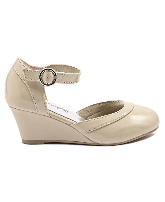PRETTY FEET Gils Wedge - Nude