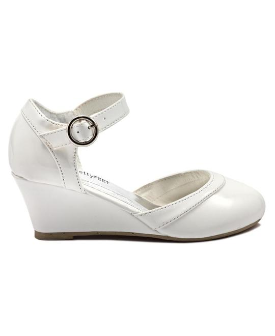 PRETTY FEET Gils Wedge - White
