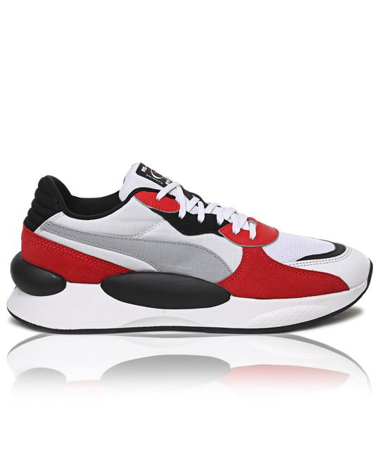 PUMA Mens RS 9.8 Space Sneakers - White Red