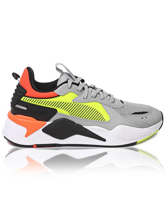 PUMA Mens RS-X Hard Drive Sneakers - Yellow