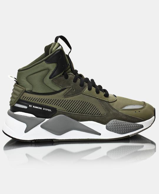PUMA Mens RS-X Midtop Utility Sneakers