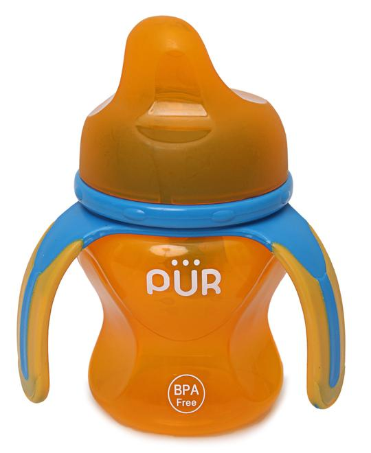 PUR Multiple Grasp Cup Spout - Orange