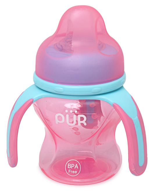 PUR Multiple Grasp Cup Spout - Pink