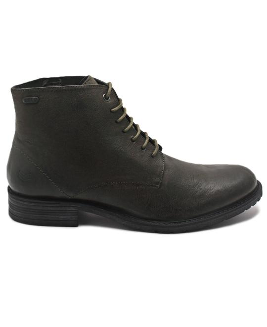 S.P.C.C Genuine Leather Boots - Olive