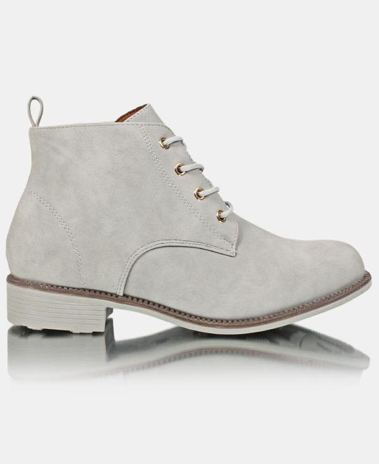 SEDUCTION Ankle Boot - Grey