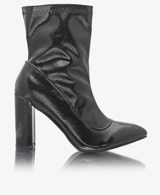 SEDUCTION Ankle Boots - Black