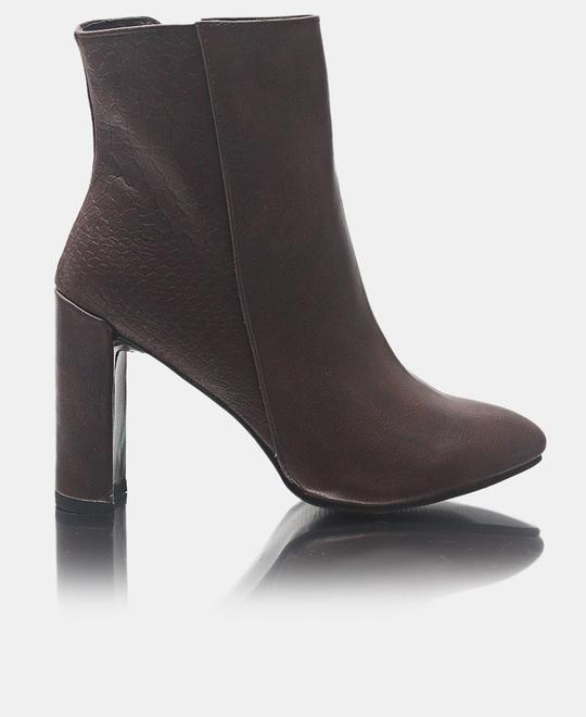 SEDUCTION Ankle Boots - Brown