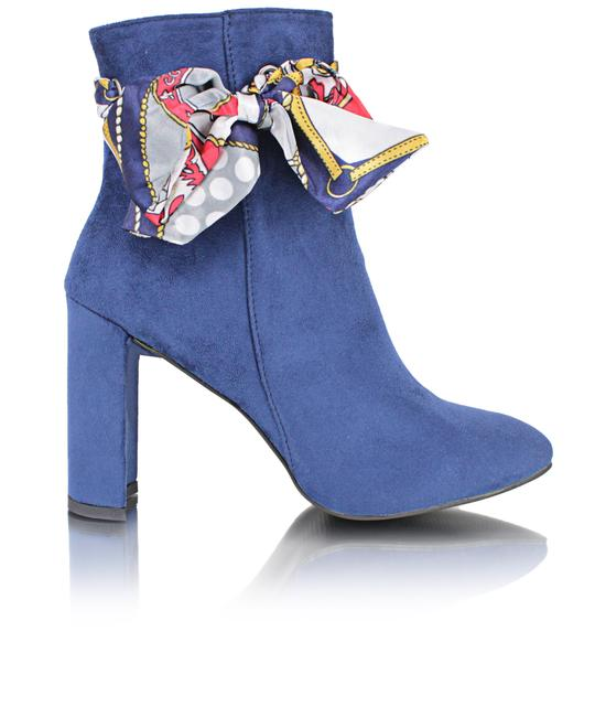 SEDUCTION Ankle Boots - Navy