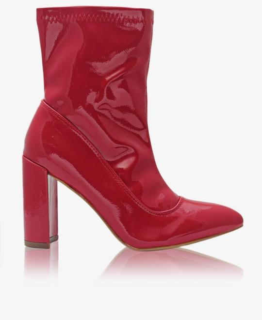 SEDUCTION Ankle Boots - Red