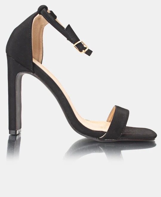 SEDUCTION Block Heels - Black