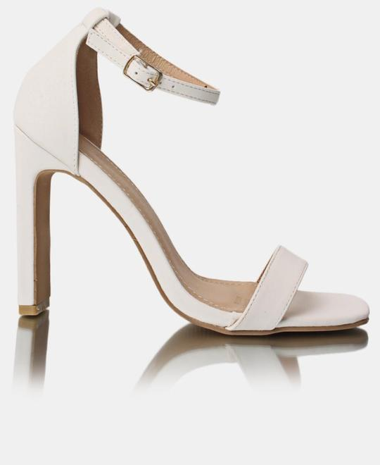 SEDUCTION Block Heels - White