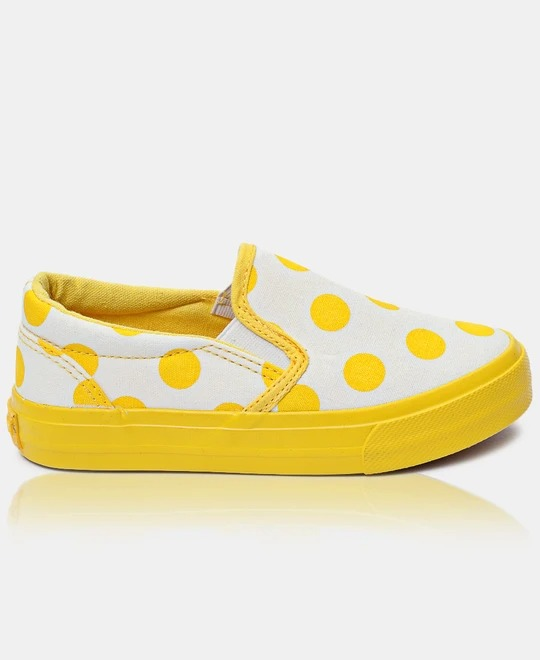 TOMTOM-Girls-Sneakers-Yellow