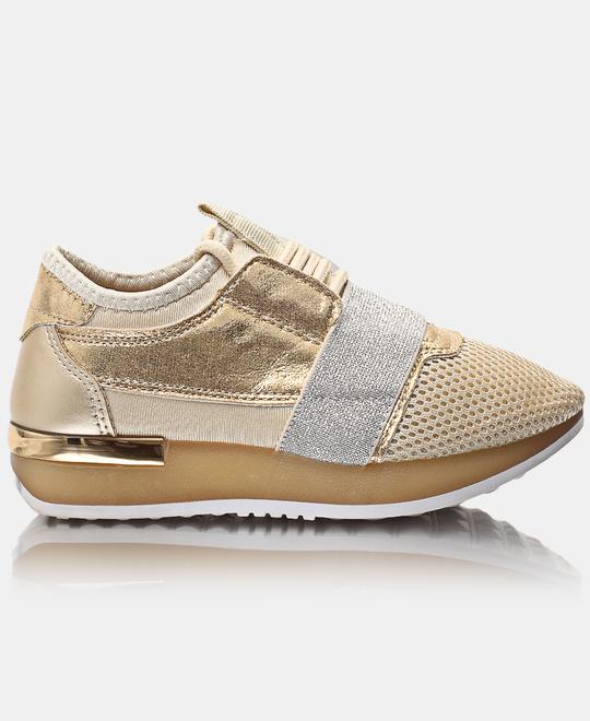 TOMTOM-Kids-Storm-Sneakers-Gold