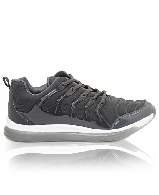 TOMTOM Mens Casual Sneakers - Dark Grey