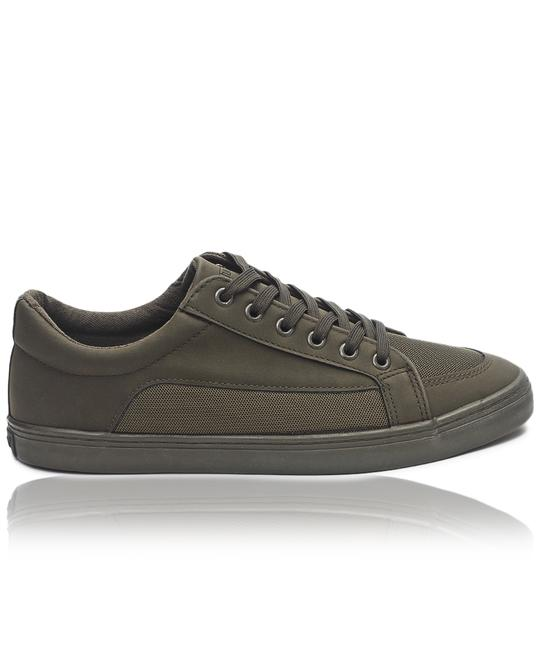 TOMTOM Mens Casual Sneakers - Olive