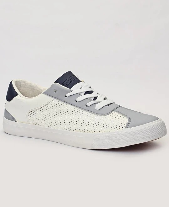 TOMTOM Mens Casual Sneakers - White