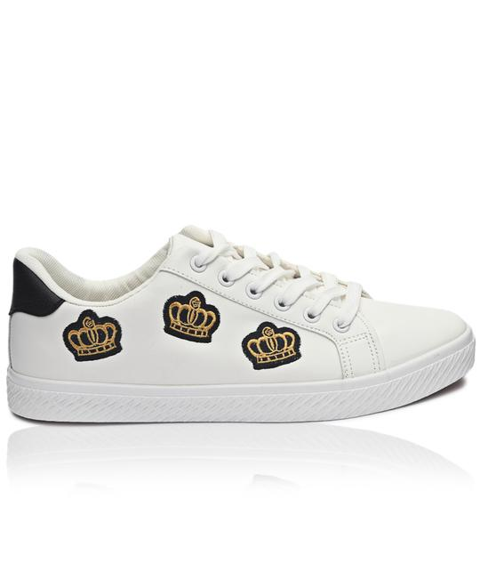 TOMTOM Mens Crown Sneakers - White