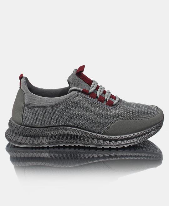 TOMTOM Mens Flye Stich Sneakers - Charcoal