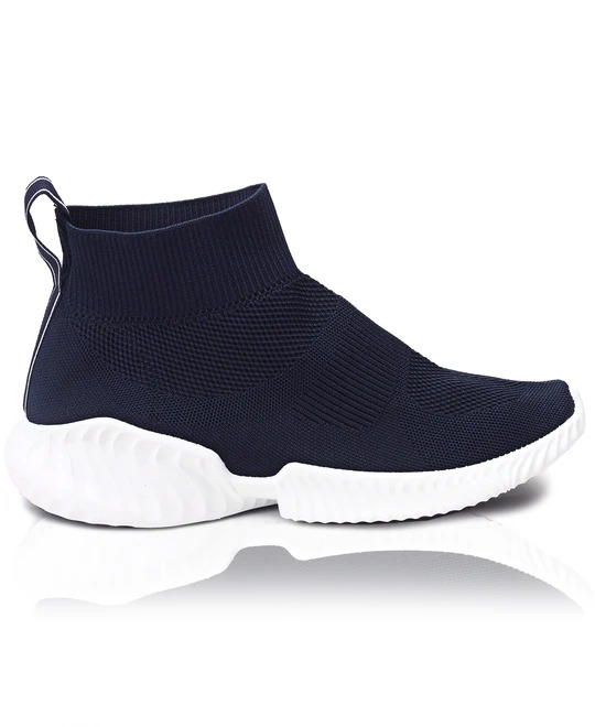 TOMTOM Mens Leap Boot Sneakers - Navy