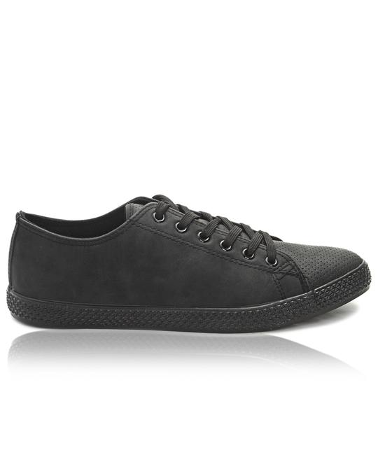 TOMTOM Mens Light Basic Sneakers - Black
