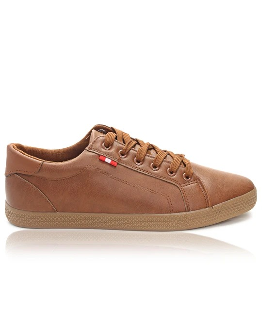 TOMTOM Mens Light Sneakers - Tan