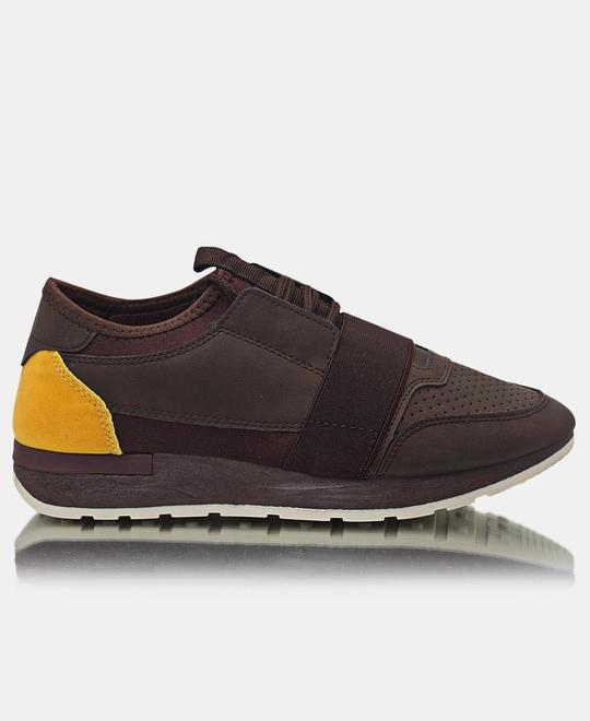 TOMTOM Mens Storm Sneakers - Choc