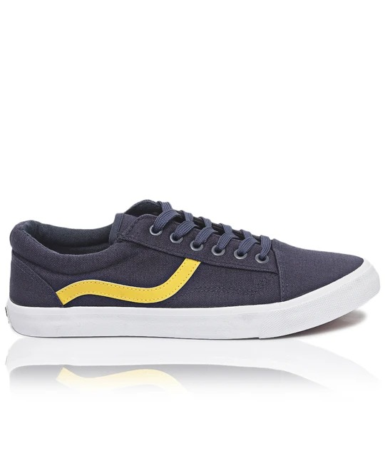 TOMTOM Mens Track Sneakers - Navy
