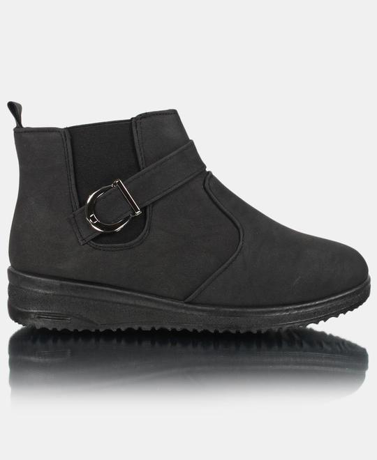 URBAN KULTURE Ankle Boots - Black