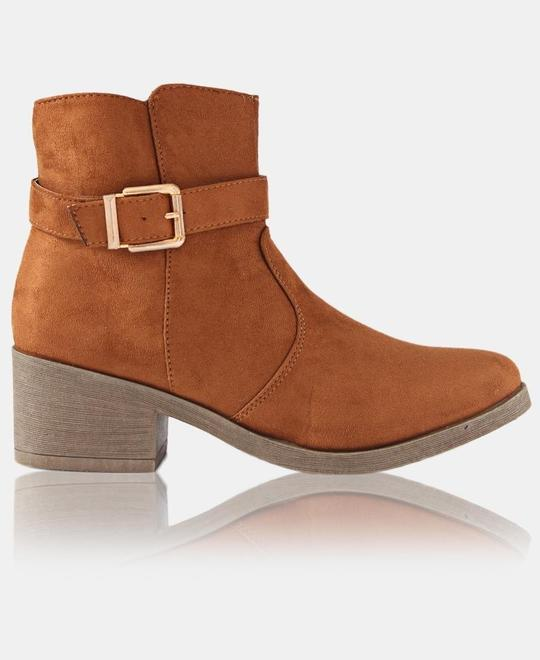 URBAN KULTURE Ankle Boots - Tan