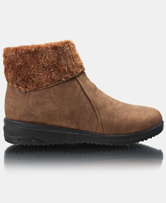 URBAN-KULTURE-Ankle-Boots-Tan