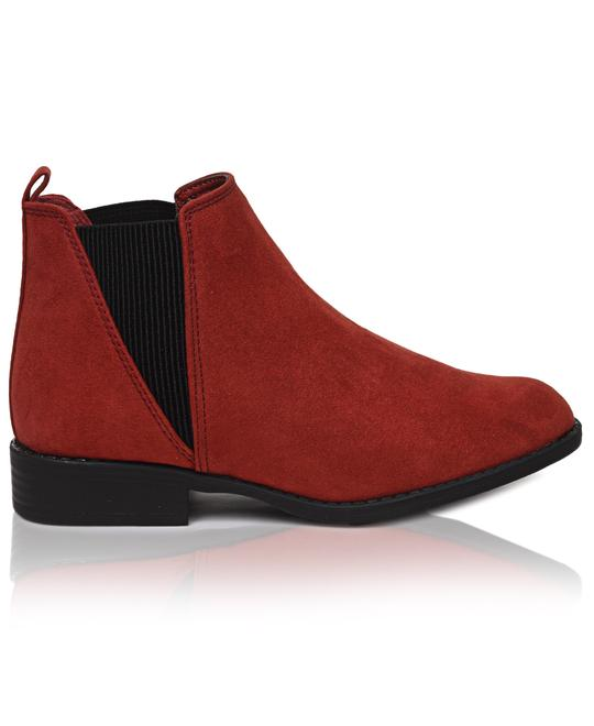 URBAN STYLE Ankle Boots - Red