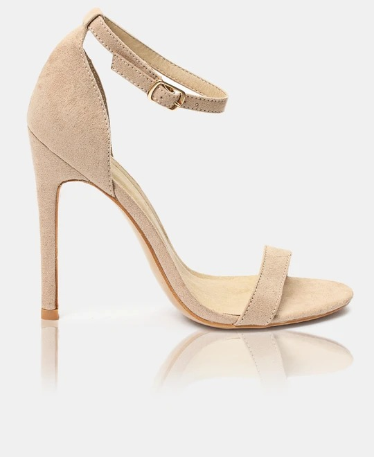 URBAN STYLE Ankle strap Heels - Nude