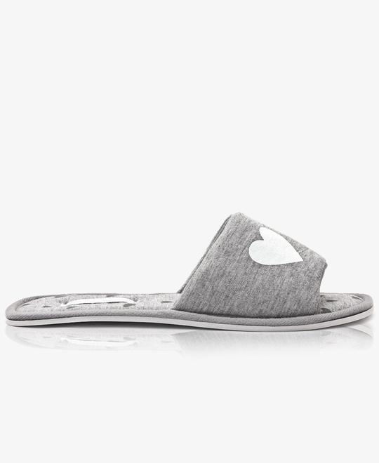 URBAN STYLE Bedroom Slippers - Grey