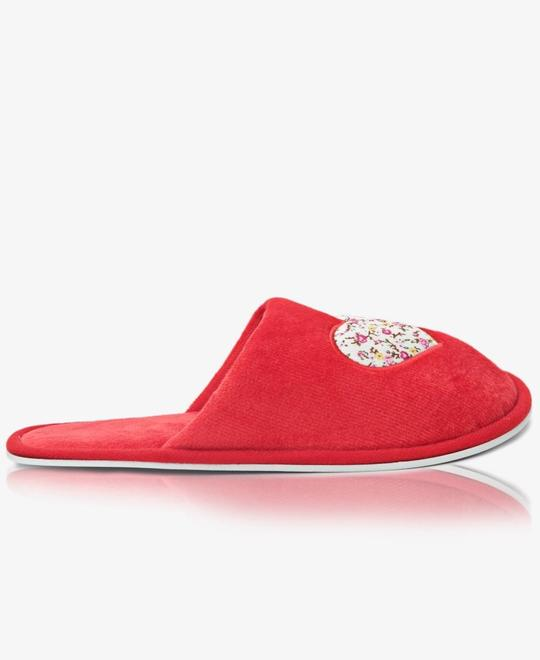 URBAN STYLE Bedroom Slippers - Red