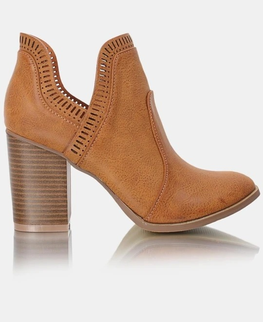 DOLCE VITA Rodeo Ankle Boot - Tan