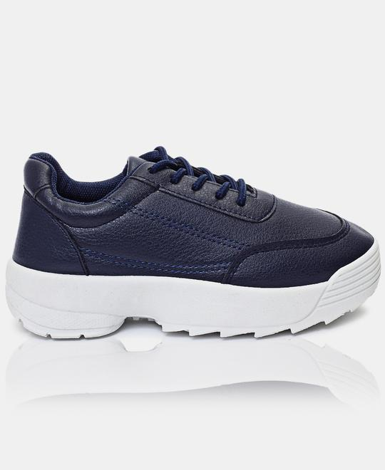 Naughty-Kids-Girls-Sneakers-Navy