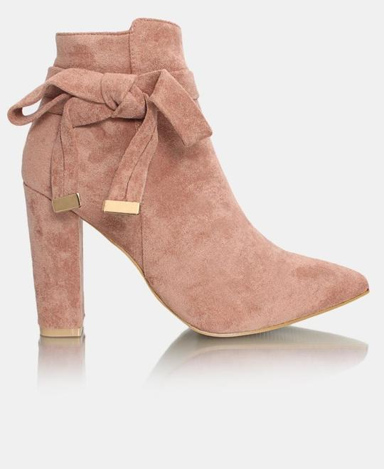 SEDUCTION Ankle Boots - Mink