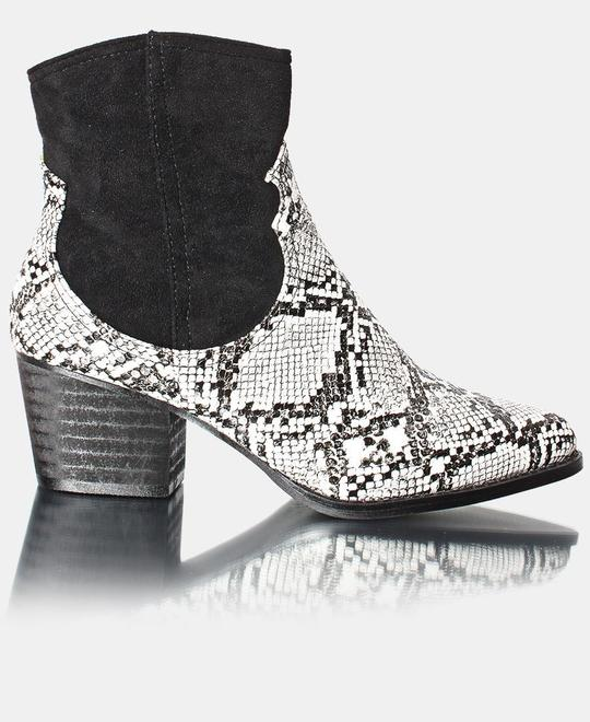 SEDUCTION Ladies Ankle Boot - White